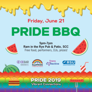 Pride Community BBQ @ Ram in the Rye Patio